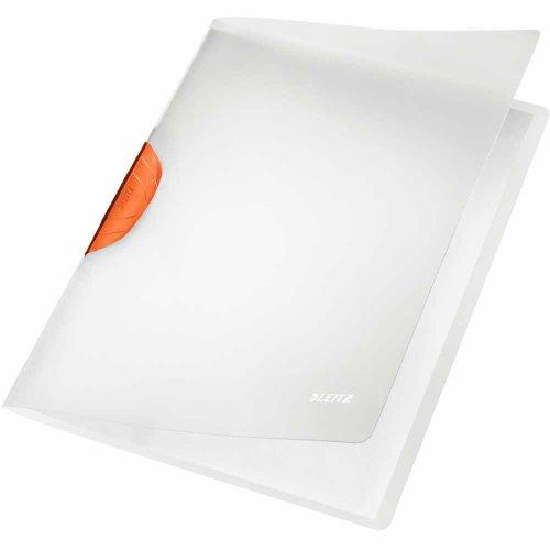 Leitz Klemmmappe ColorClip (Magic, A4, PP) orange