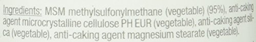Vitabay MSM (Methylsulfonylmethan) Meshfaktor 80 – 1000 mg – 120 Tabletten