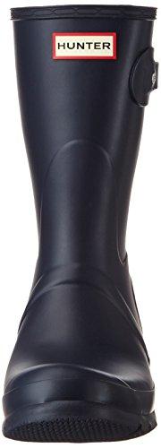 Hunter Damen Original Short Wellington Boots Gummistiefel Blau (Navy)