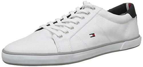 Tommy Hilfiger Herren H2285arlow 1d Low-Top, Weiß (Bianco), 39 EU