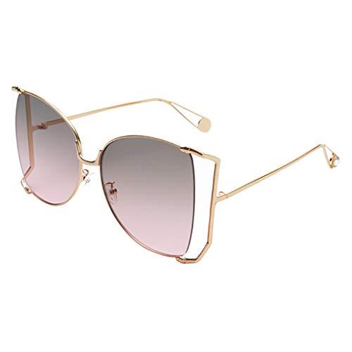 YWLINK Herren Damen Vintage Platz Sonnenbrillen Retro Farbverlauf Strand Urlaub StraßE Eyewear Mode