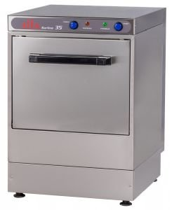 Price comparison product image Chef King Elviomex Alfa 350mm Basket Glasswasher - Gravity Drain