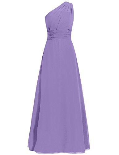 HUINI -  Vestito  - Donna Light_Purple