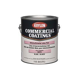 krylon-k31130404-20-latex-flat-enamel-white-5-gallons-krylon-commercial-coatings-interior-exterior-p