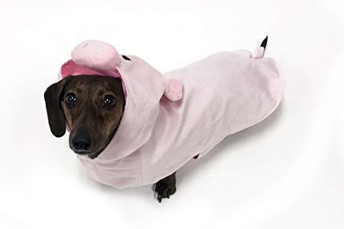 Für Schwein Kostüm Hunde - BFF Costumes Schweine-Kostüm für Kleine Hunde, X-Small