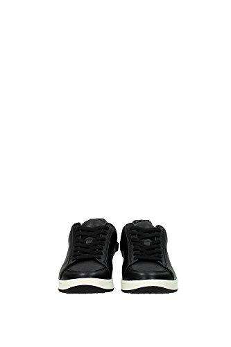 3981554 Burberry Sneakers Femme Cuir Noir Noir