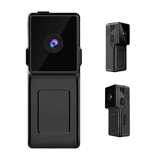 fang FANS Kamera Videokamera Mini HD 1080P drahtlose tragbare Karte kleine Kamera Sprachsteuerung Nacht Vsion Mini-Kamera DVR DV-Videorecorder Freien (Black)