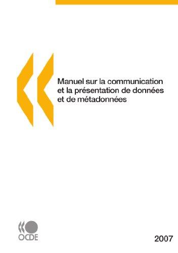 Manuel sur la communication et la présentation de données et de métadonnées