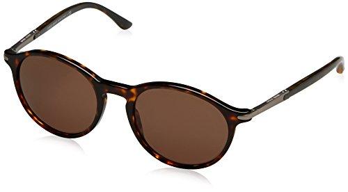 Giorgio Armani Herren AR8009 Frames of Life Special Series Sonnenbrille, Braun (Dark Havana 502673), One Size (Herstellergröße: 52)