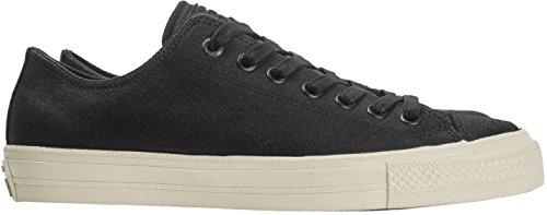 Converse Men's John Varvatos Chuck Ii Men's Black Sneakers 100% Leather Black