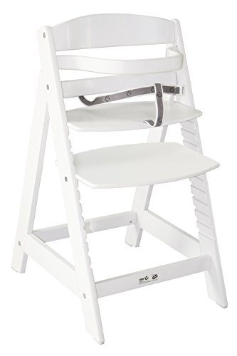 Roba  7562 W - Treppenhochstuhl, weiß lackiert