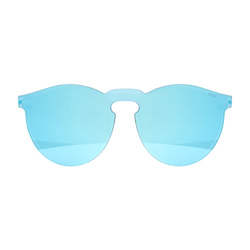 Ocean Eye, Montures de Lunettes Mixte Adulte, Bleu (Celeste), 55