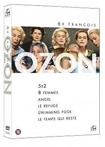 Coffret François Ozon - 6 Films: 5x2 / 8 FEMMES / ANGEL / LE REFUGE / SWIMMING POOL / LE TEMPS QUI RESTE (coffret 6 DVD) [import avec langue Francais]