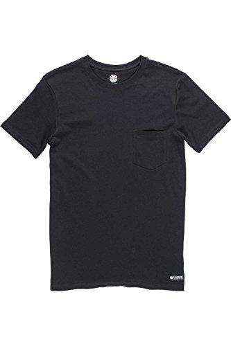 Herren T-Shirt Element Basic Cr Pocket T-Shirt Black