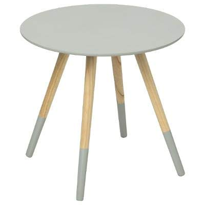 Table basse design moderne Gris clair - Mileo