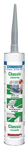 WEICON Flex 310 M® Classic MS-Polymer 310 ml grau elastischer 1-Komponenten-Kleber