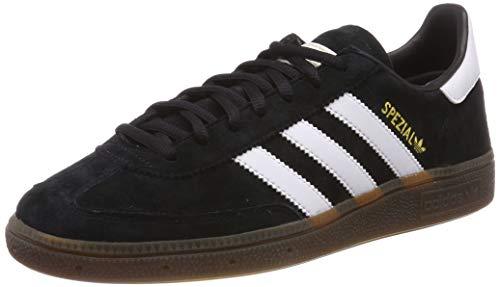 adidas Handball Spzl, Scarpe da Ginnastica Uomo, Nero Core Black/Ftwr White/Gum5, 44 EU