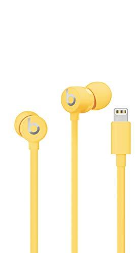 Auriculares amarillos con conector Lightning