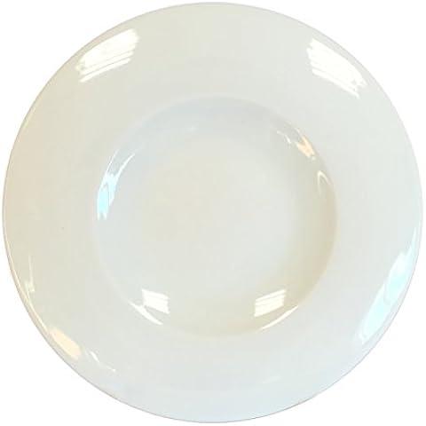 CIM High Gastronomie Brise–Set von 6Teller für Brot, 16cm, weiß