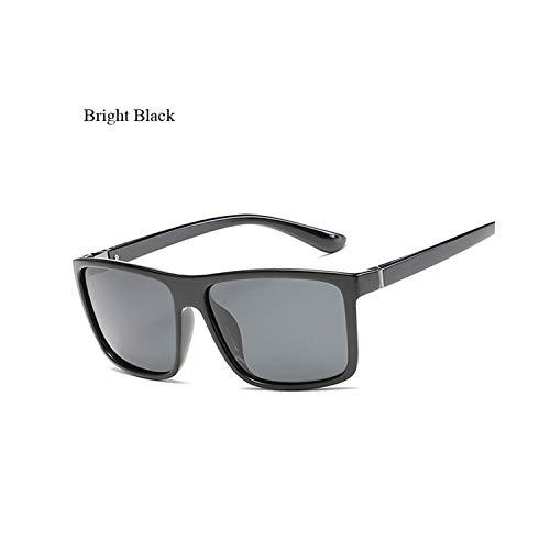 Sportbrillen, Angeln Golfbrille,Polaroid Sunglasses Unisex Square Vintage Sun Glasses Famous Brand Sunglases Polarisiert Sunglasses Retro Feminino For Women Men JR6625 C1
