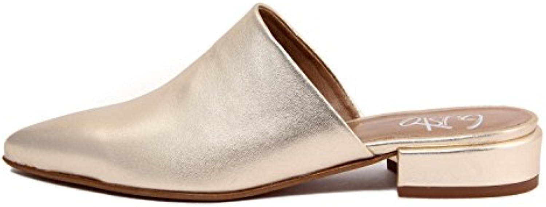 Gusto Damen - LEDERHOLZSCHUHE - 4832_Platino 2018 Letztes Modell  Mode Schuhe Billig Online-Verkauf