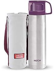 Milton Glassy Flask 1000ml Vaccum Flasks - Purple