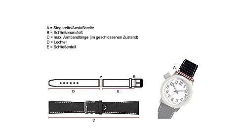Citizen Promaster para Banda Reloj de Pulsera Piel marrón 22mm para AS2031-14W AS2020AS2031AS2030AS4020