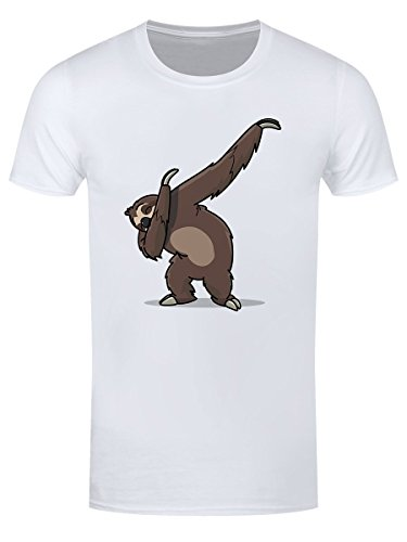 Grindstore Men's Sloth Dab T-Shirt White