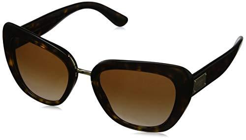 Dolce & Gabbana Damen 0DG4296 502/13 53 Sonnenbrille, Braun (Havana/Browngradient),