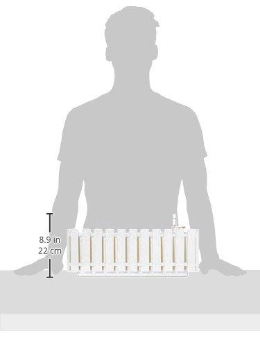 Plastkon autoirrigazione fioriere Smart sistema fency 50cm, bianco - 3