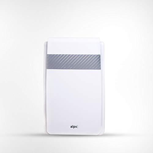 Purificateur d'air Alps Technologies | Performance premium avec 4 étapes de filtration | HEPA premium + charbon-actif + générateur d'ions négatifs | Modèle ALPS_PA_M1 | Marque Française