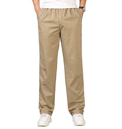 Pantalon Homme Cargo Chino Pantalon de Travail Casual en...