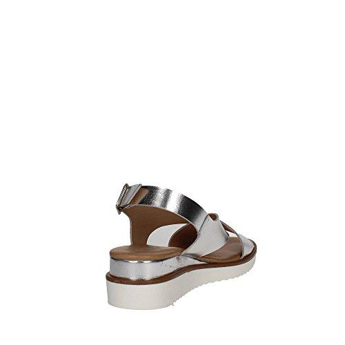 Pf16522 001 Sandalo Morbido Donna D'argento Cinzia pZw5AEHxqn