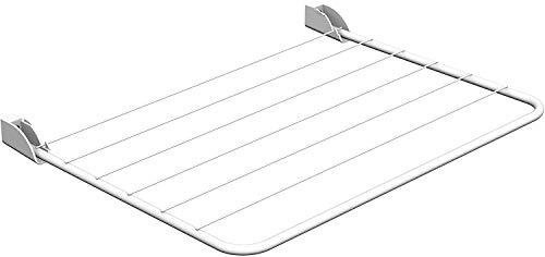Gimi Reflecto Wäschetrockner für die Wand aus Stahl, 5 m Trockenlänge - Wäscheständer Wand Die Für