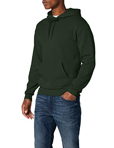 Großhandel Große T-shirts (Fruit of the Loom Herren Kapuzenpullover, Bottle Green , Large)