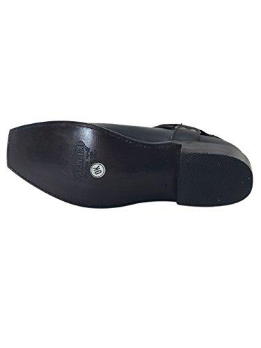 El Charro Vintage Leather Chelsea Boots 2746 Very Dark Brown Dark Brown