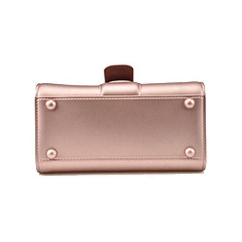 Damenmode Schultertasche Neue Handtasche Retro Kleine Quadratische Tasche D