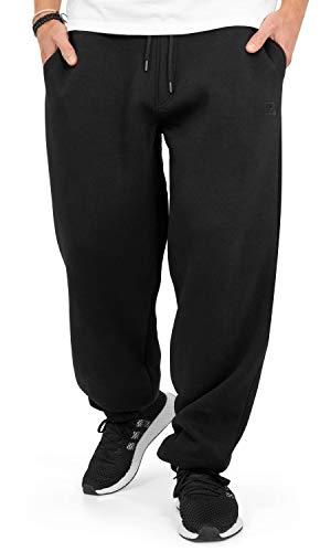 BACKSPIN Sportswear - Jogginghose Basic - Black Größe L, Farbe Schwarz
