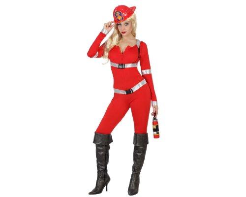 Generique - Costume Pompiere Sexy Adulto Xs/S