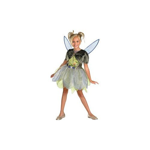 Tinker Bell and the Lost Treasure Deluxe - Child M(7-8) by (Tinker Bell Deluxe Kostüm)
