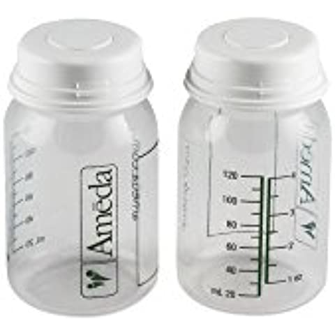 Ameda Breastmilk Collection and Storage Bottles BPA FREE - 2 Each