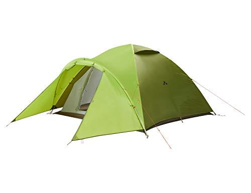 Vaude Campo Grande XT 4P, 4 Personenzelt, sehr geräumig 4-Personen-Zelt, Chute Green, one Size -