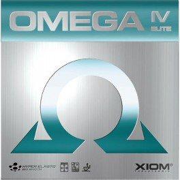 Xiom Tischtennisbelag Omega IV Elite schwarz 2,0 mm