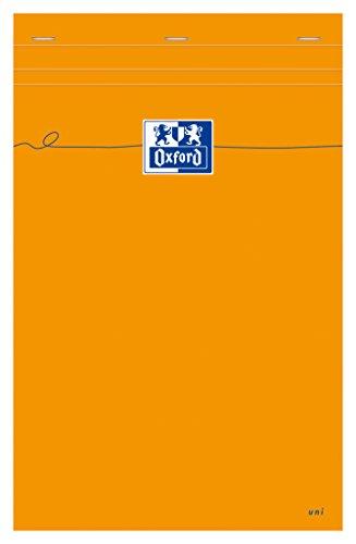 Oxford 100106292 - Block notes Everyday A4+, in bianco, 80 fogli, 80 g/m², confezione da 5 pezzi, colore: Arancione
