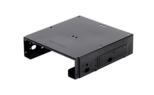 """SilverStone SST-SDP10B - Einbaurahmen 5.25\"""" mit Halterung für 1x 3.5\"""" und 2x 2.5\"""" HDD/SSD"""