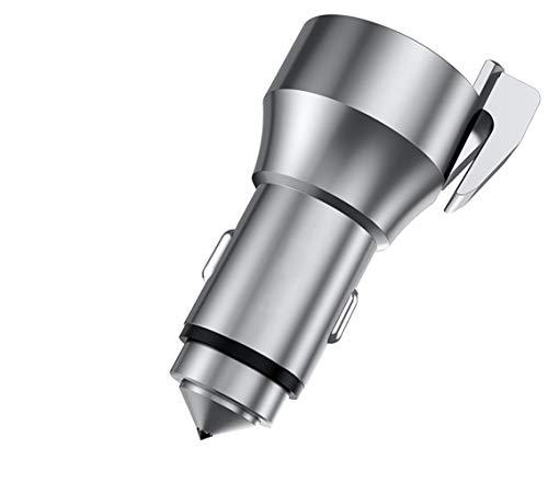 Preisvergleich Produktbild Auto LadegeräT USB 24w Kfz SchnellladegeräT 2 Ports Handy Mit Quick Charge 3.0 UnterstüTzt FüR Samsung S9 S8 S7 Edge A5 2017 Huawei Mate 20 Lite P20 Usw
