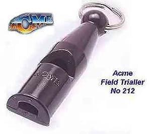 Acme 212Sifflet de dressage de chien–Idéal pour les chiens de chasse