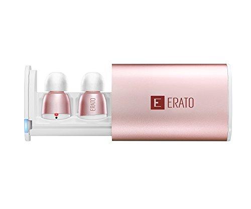 Erato APOLLO 7S–Cuffie Wireless Bluetooth con 3d Surround Sound per Apple Iphone, Mac, Android e Smart TV–Rose Gold