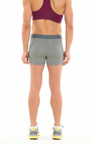 Nike Pro Essential Short pour femme, 6,3cm gris