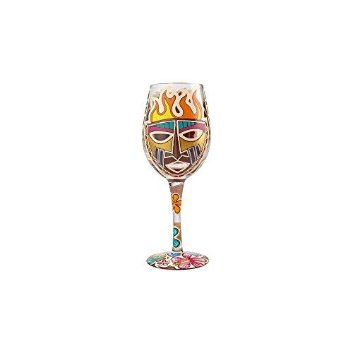 Lolita Tiki Wine Glass